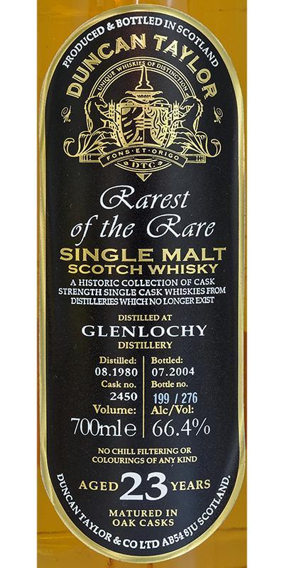 Glenlochy 1980 DT