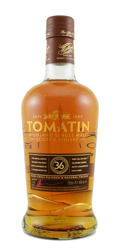 Tomatin 36-year-old - Batch 2