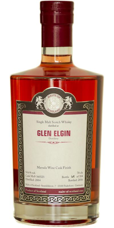 Glen Elgin 2004 MoS