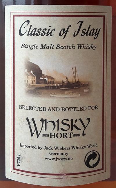 Classic of Islay Vintage 2016 JW