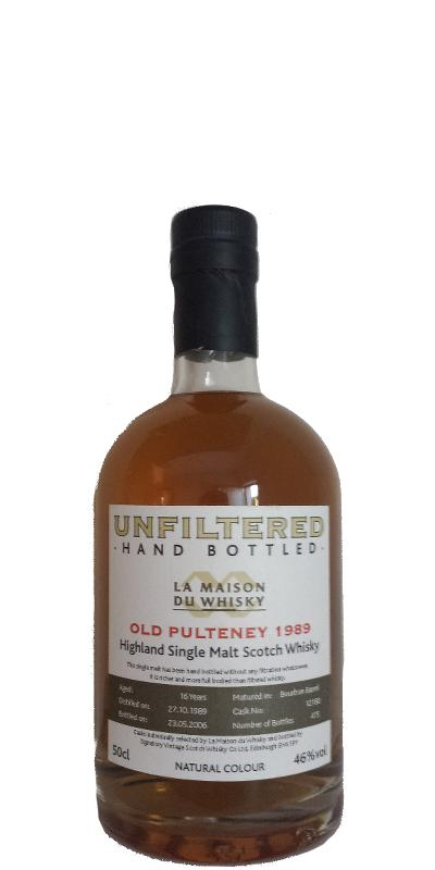 Old Pulteney 1989 LMDW