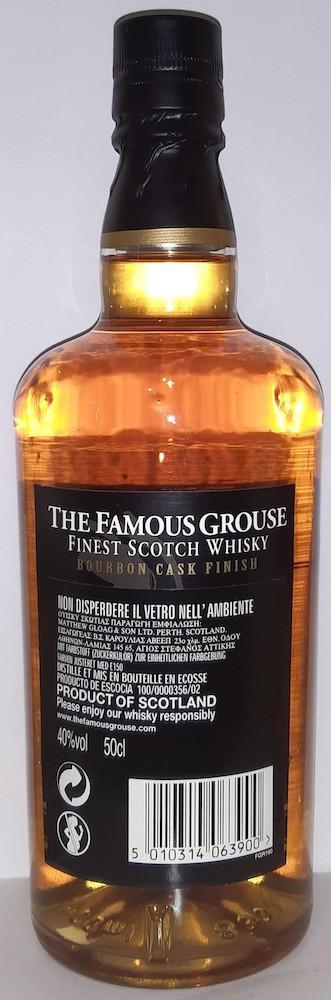 The Famous Grouse Bourbon Cask Finish