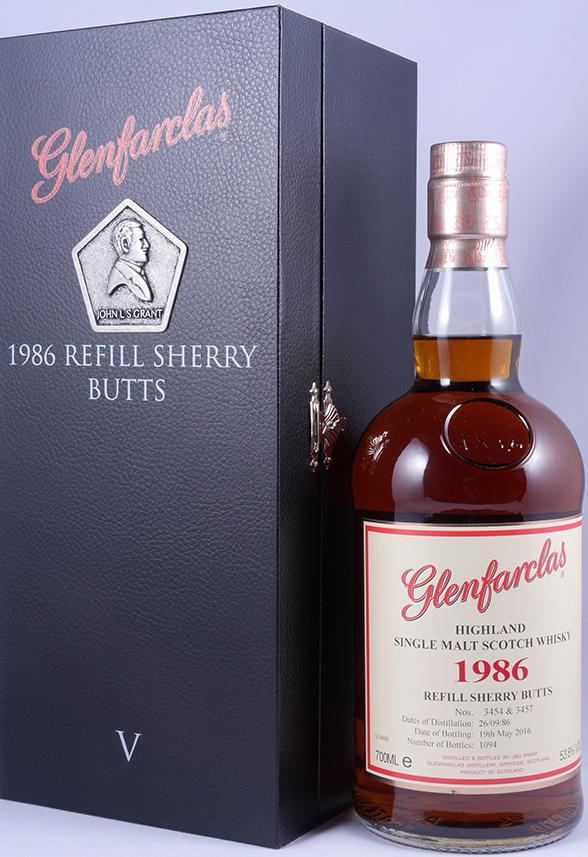 Glenfarclas 1986 - Refill Sherry Butts