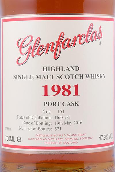 Glenfarclas 1981 - Port Cask