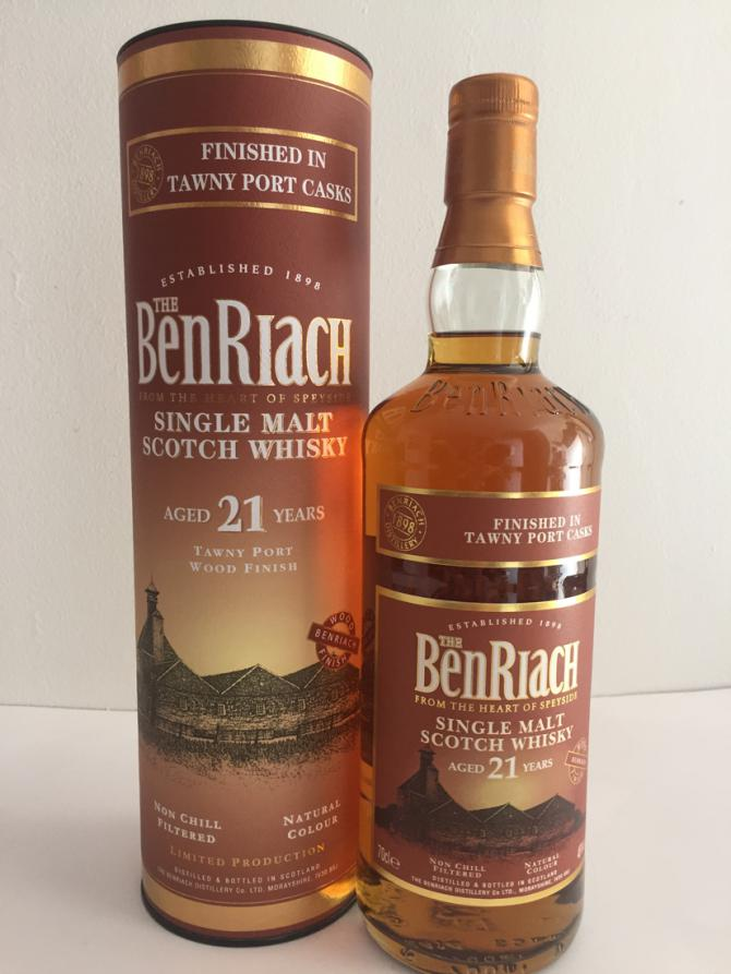 BenRiach 21-year-old Tawny Port Finish