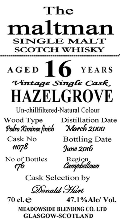 Hazelgrove 2000 MBl