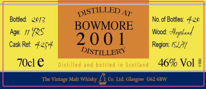 Bowmore 2001 CC