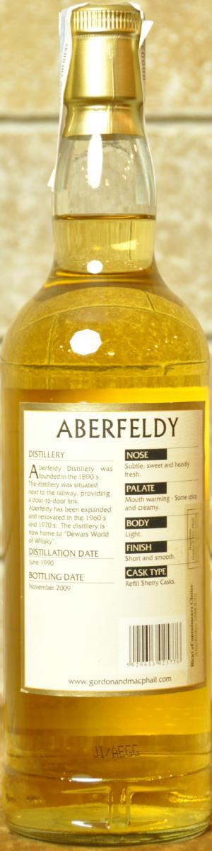 Aberfeldy 1990 GM