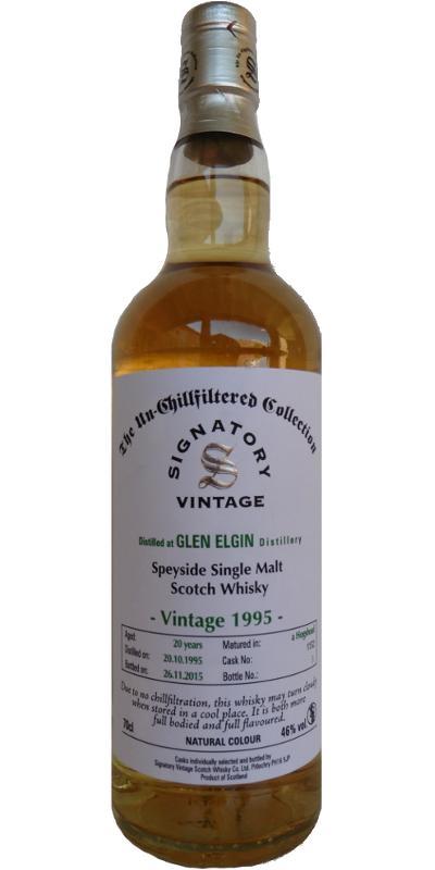 Glen Elgin 1995 SV