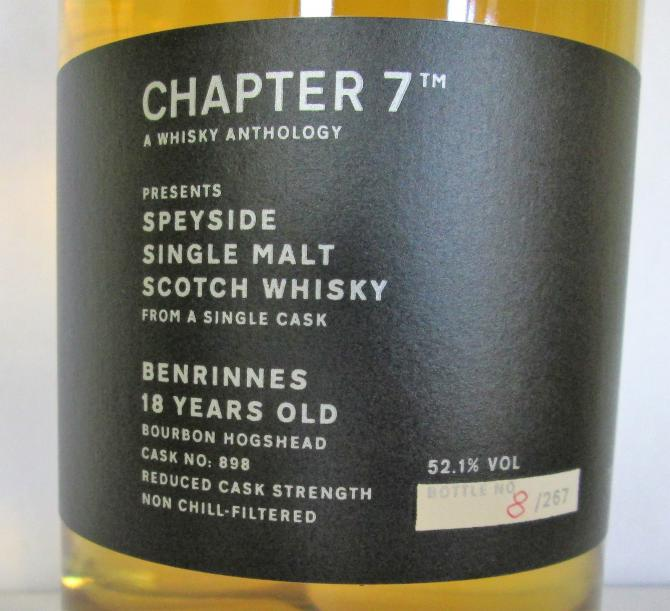Benrinnes 18-year-old Ch7
