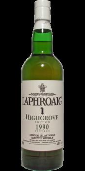 Laphroaig 1990