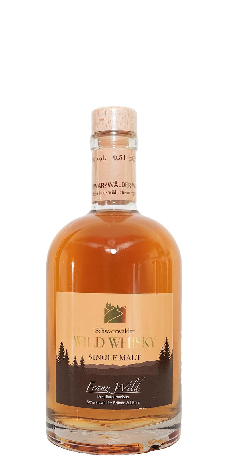 Wild Whisky Schwarzwälder Single Malt