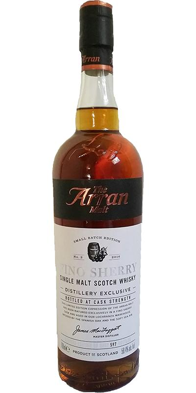 Arran Fino Sherry - Distillery Exclusive