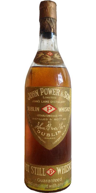 John Power & Son Pot Still Whiskey