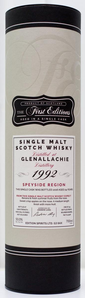 Glenallachie 1992 ED