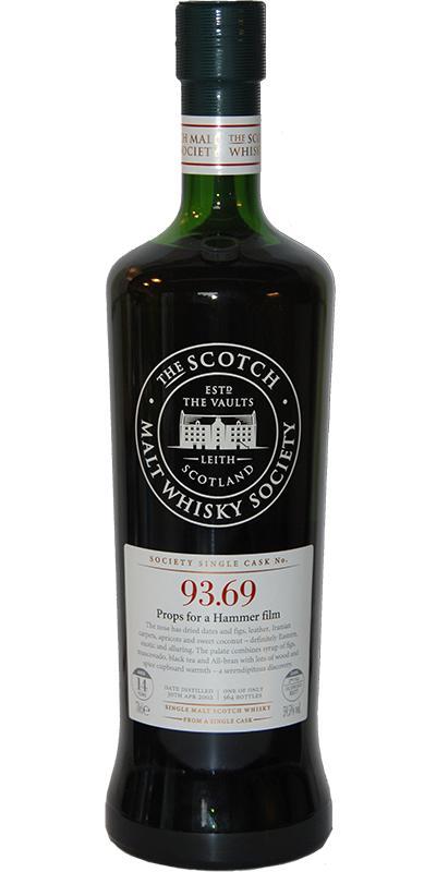 Glen Scotia 2002 SMWS 93.69