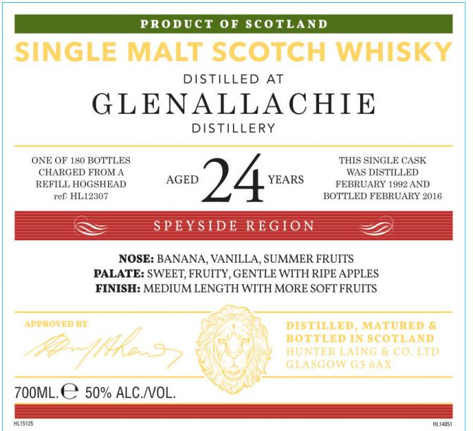 Glenallachie 1992 HL