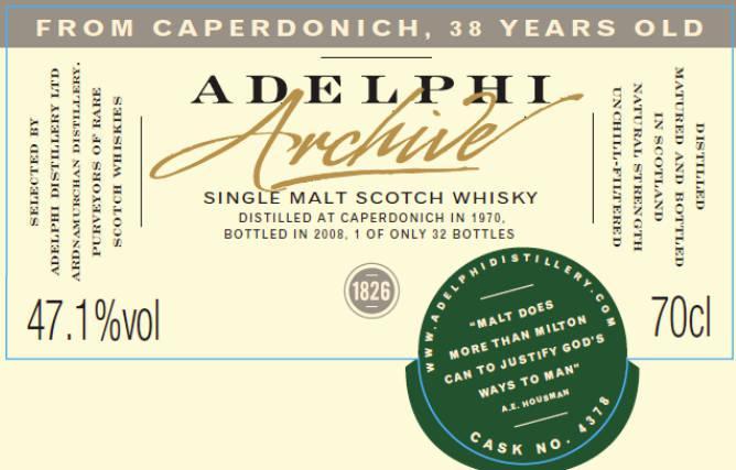 Caperdonich 1970 AD