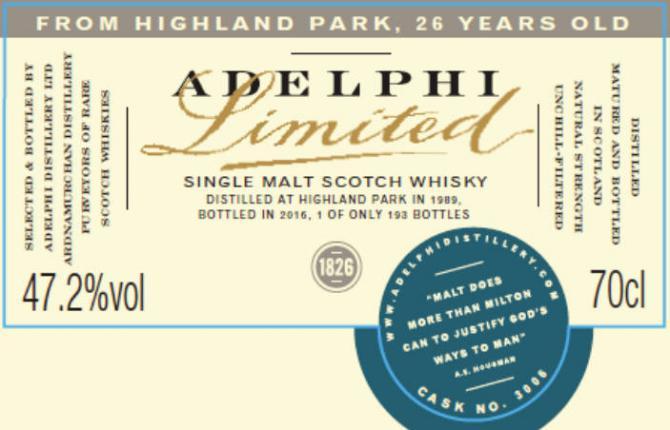 Highland Park 1989 AD