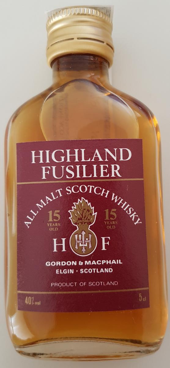 Highland Fusilier 12-year old GM