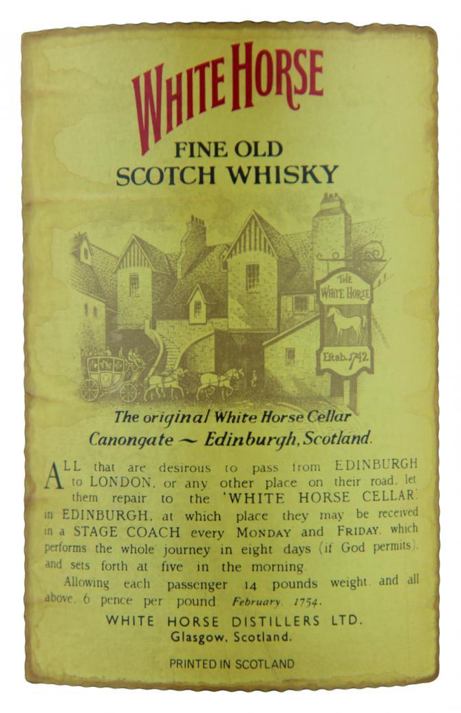 White Horse Fine Old Scotch Whisky