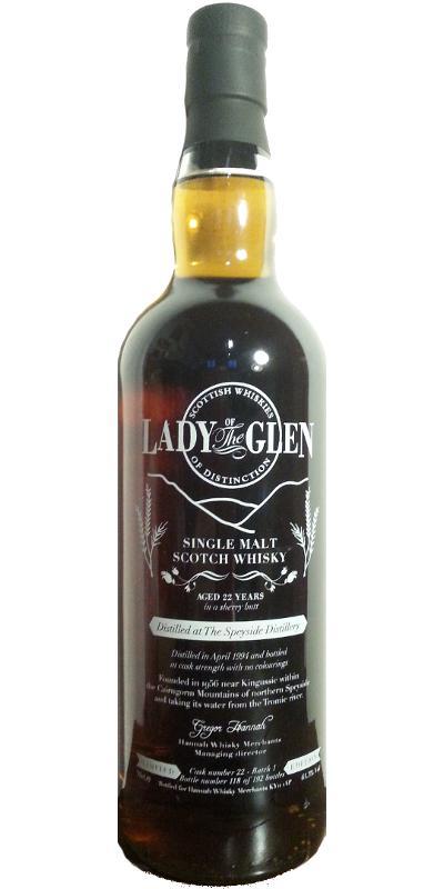 Speyside Distillery 1994 LotG