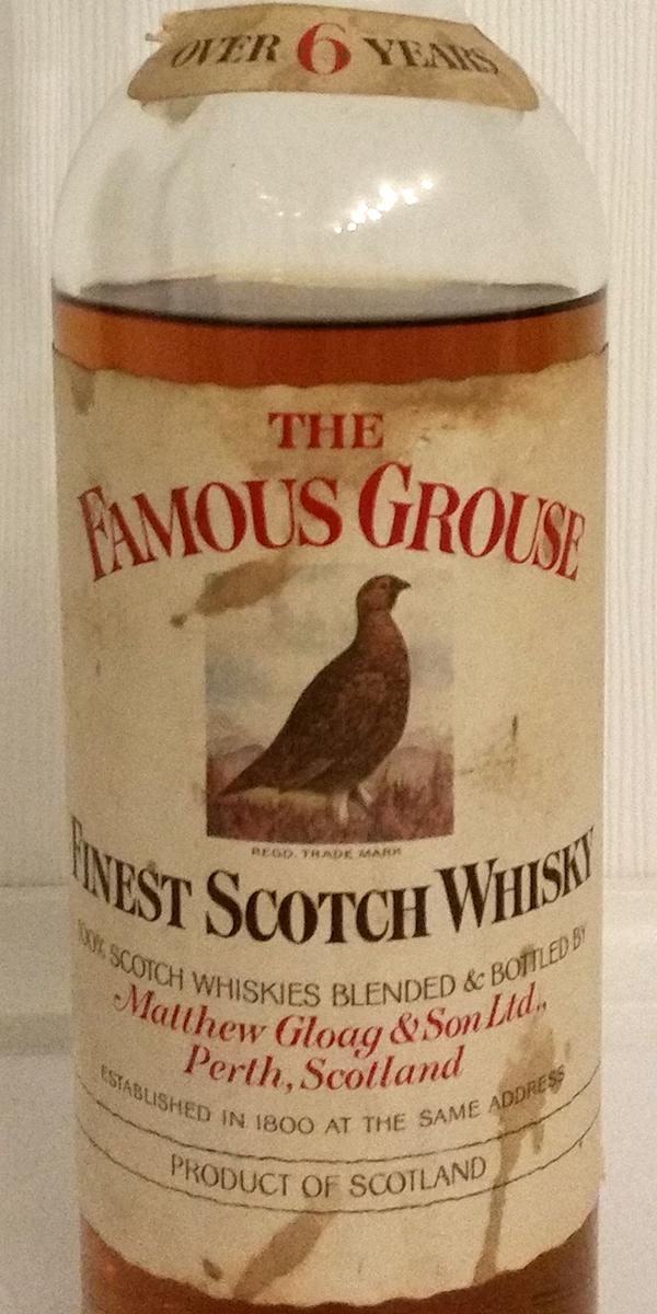 The Famous Grouse 06-year-old MG&S