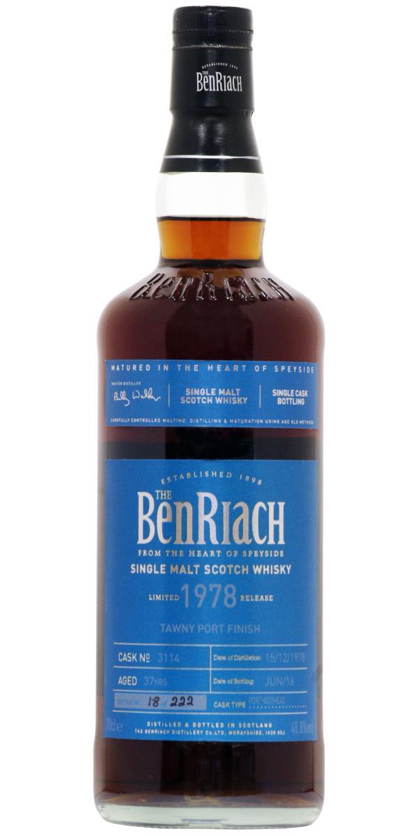 BenRiach 1978