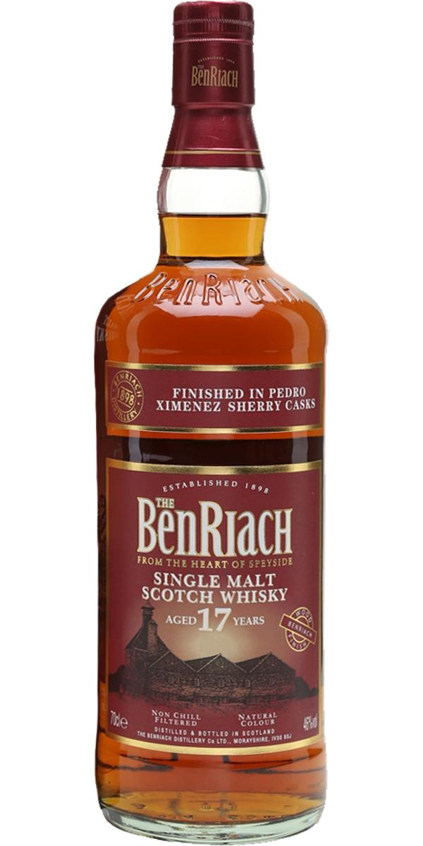 BenRiach 17-year-old Pedro Ximénez Finish