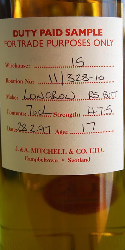 Longrow 1997