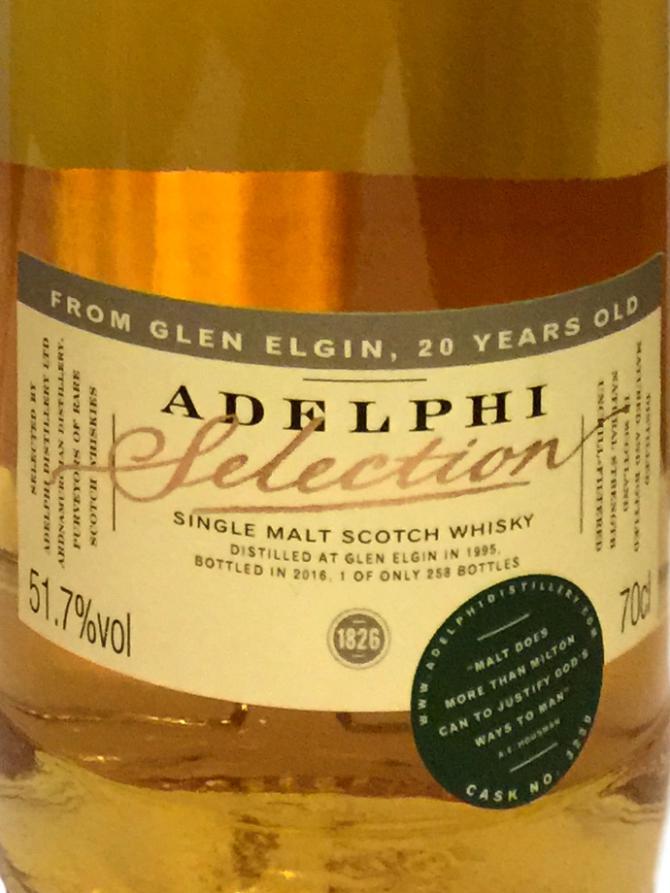 Glen Elgin 1995 AD