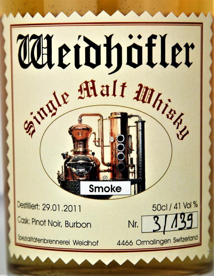 Weidhöfler 2011 - Smoke