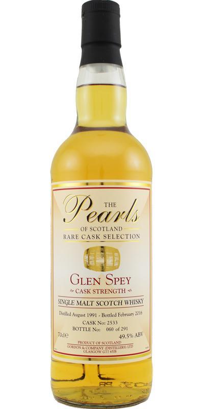 Glen Spey 1991 G&C