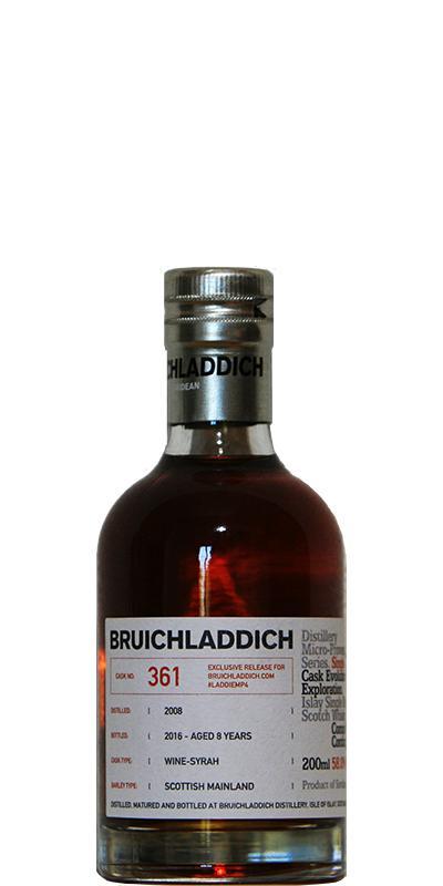 Bruichladdich #LADDIEMP4 - 2008