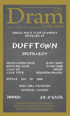 Dufftown 2009 C&S