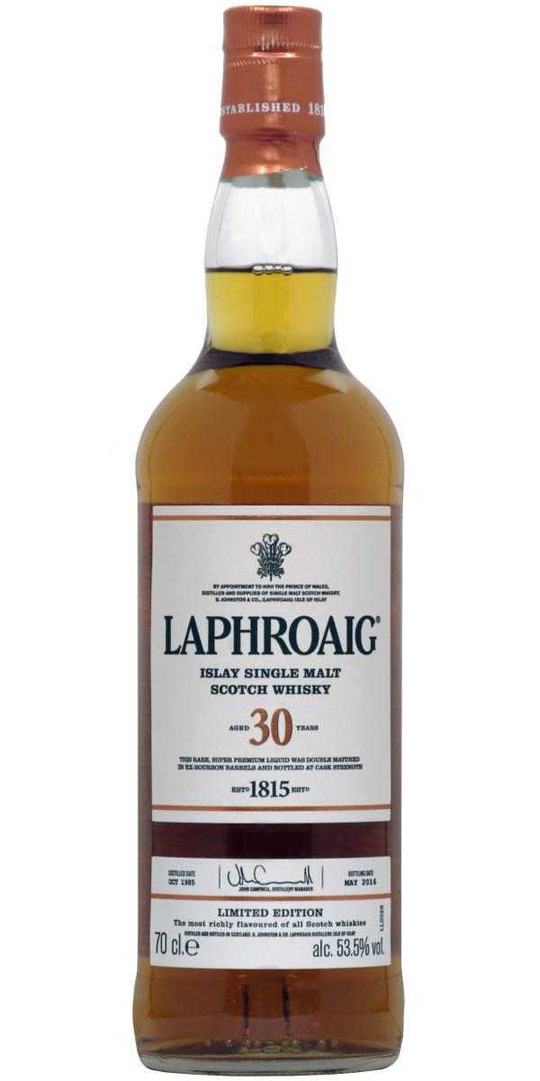 Laphroaig 30-year-old