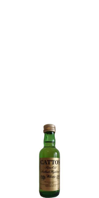 Catto's Rare Old Scottish Highland Whisky