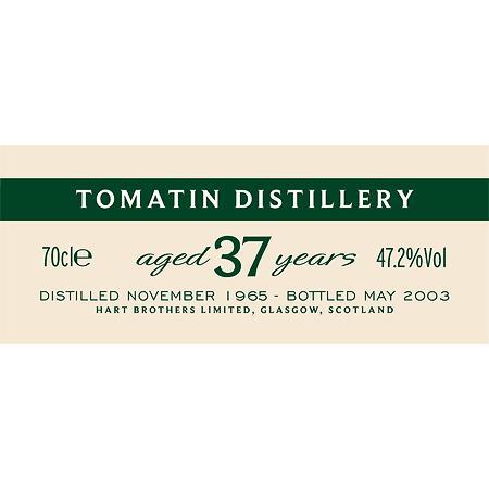 Tomatin 1965 HB