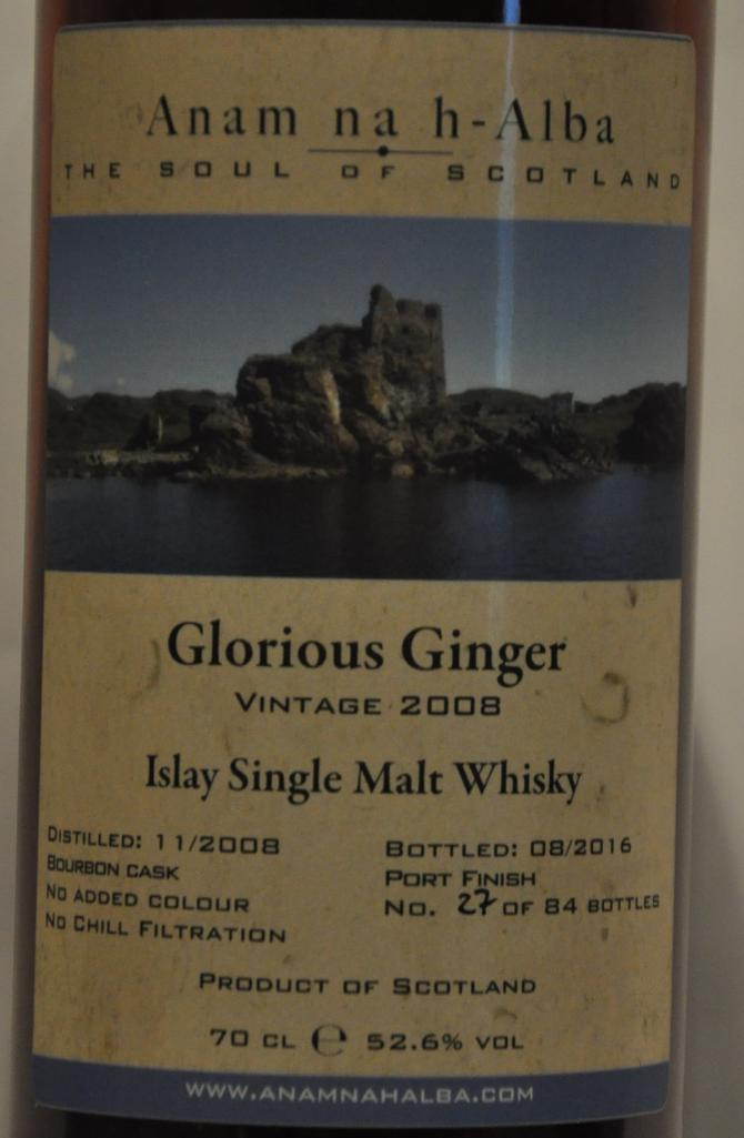 Glorious Ginger 2008 ANHA