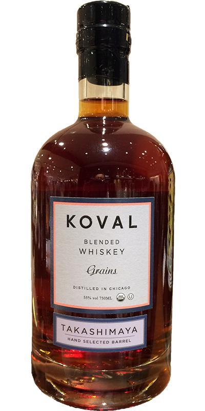 Koval Blended Whiskey - Grains