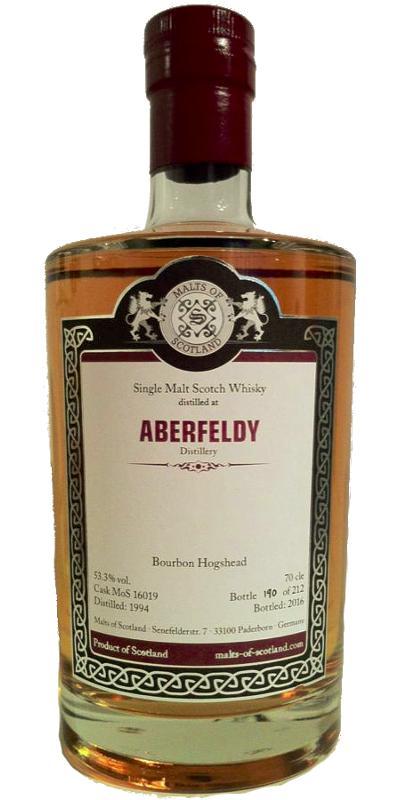 Aberfeldy 1994 MoS