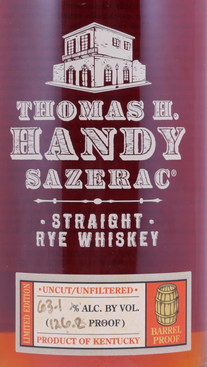 Thomas H. Handy Sazerac 2010