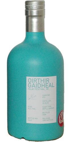 Bruichladdich 1993 Oirthir Gaidheal