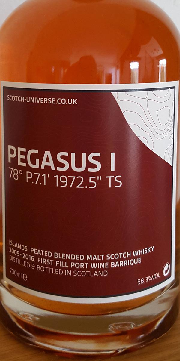 Scotch Universe Pegasus I - 78° P.7.1' 1972.5'' TS