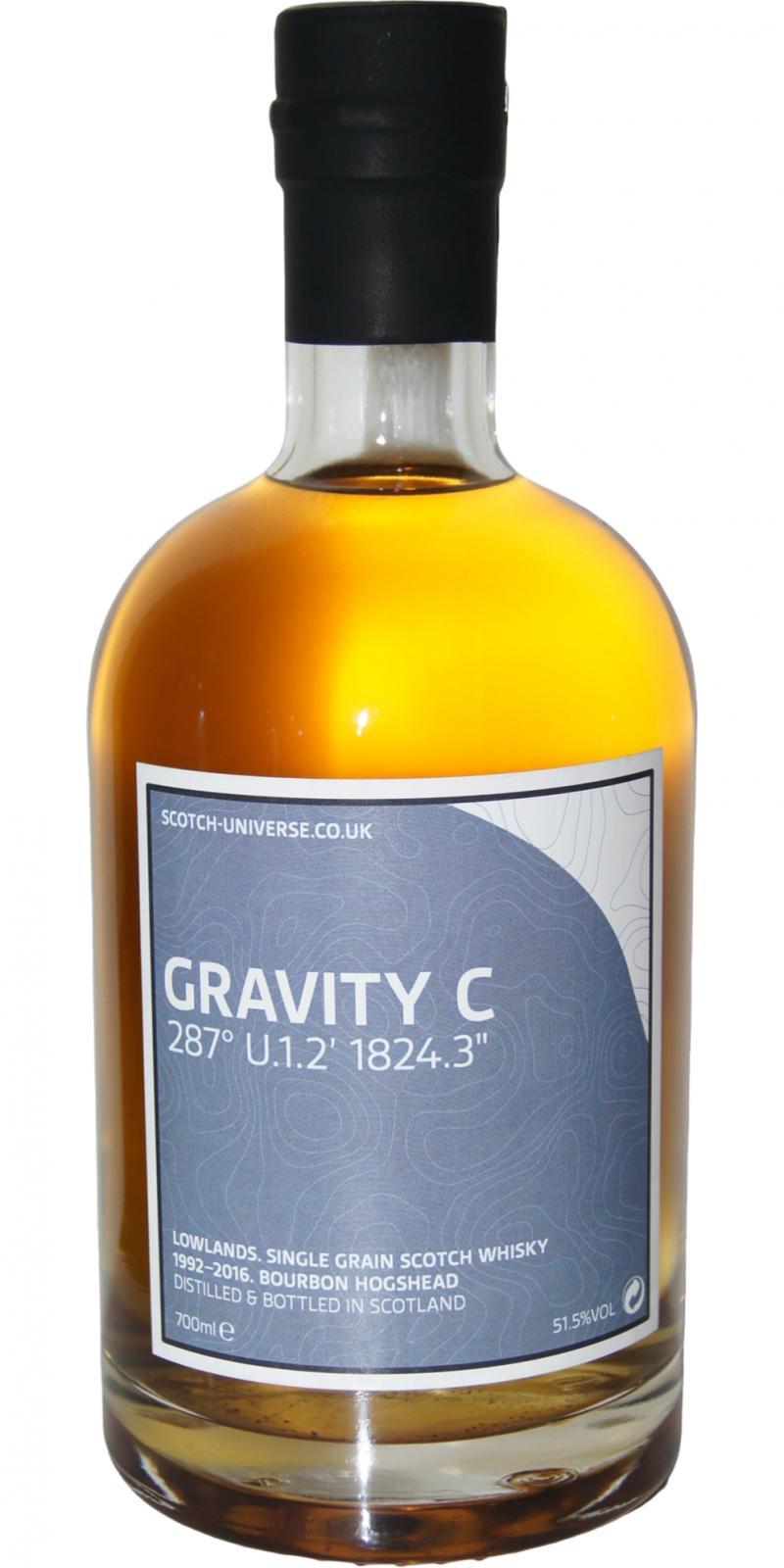 "Scotch Universe Gravity C - 287° U.1.2' 1824.3"""