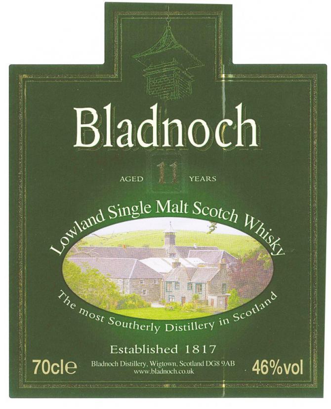 Bladnoch 2001
