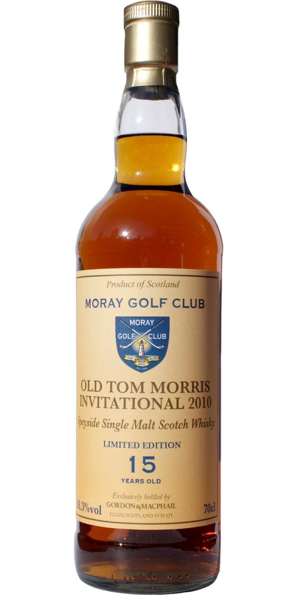 Speyside Single Malt Scotch Whisky 15-year-old GM