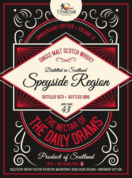 Speyside Region 1973 DD