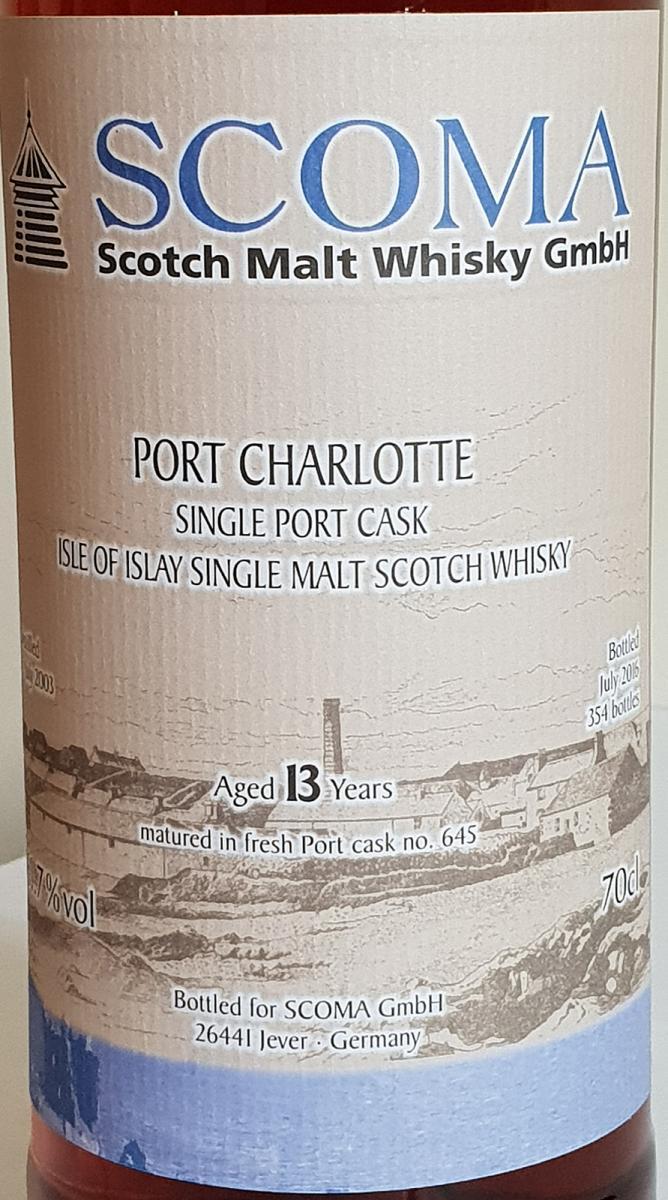 Port Charlotte 2003 Gs
