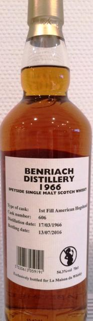 BenRiach 1966 GM